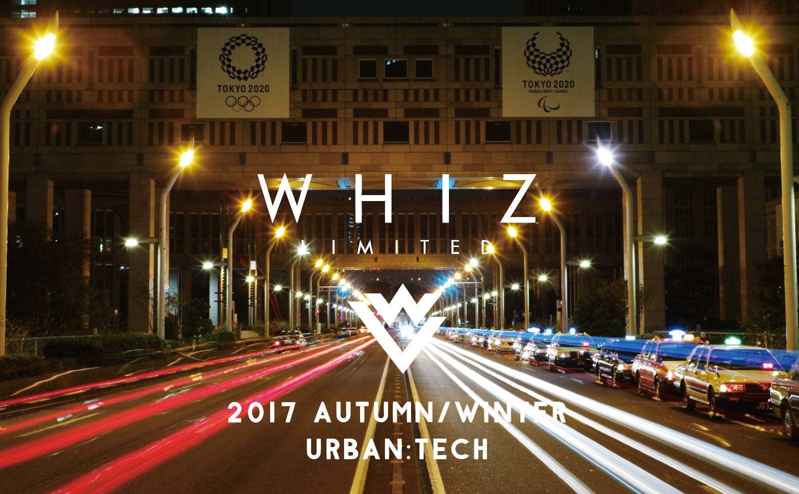 WHIZ LIMITED 2017 AW COLLECTION / URBAN:TECH