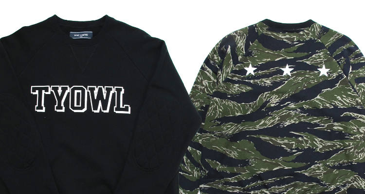 NEW ARRIVAL / WHIZ LIMITED-TYOWL SWEAT SHIRTS