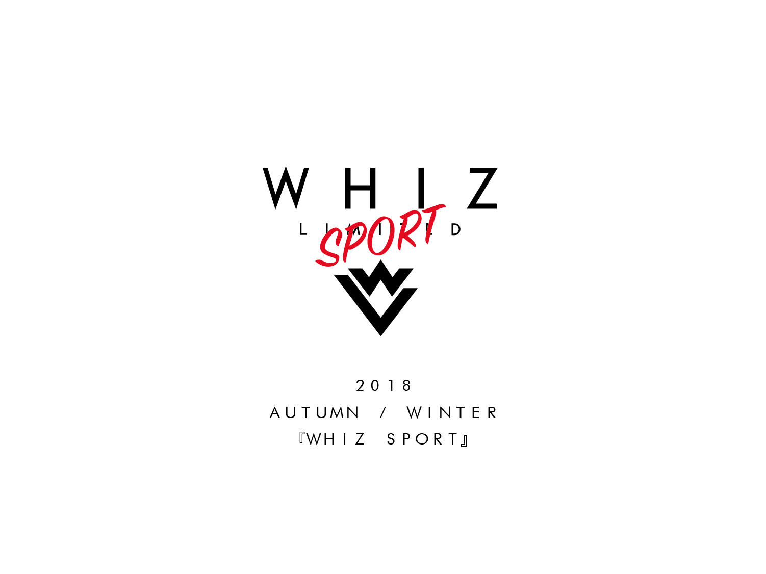 WHIZ LIMITED 2018 AW COLLECTION / WHIZ SPORT