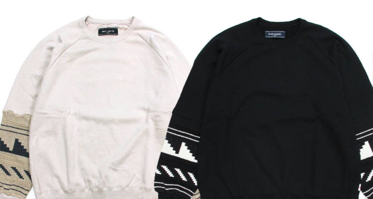 NEW ARRIVAL / WHIZ LIMITED-WAVY SWEAT SHIRT