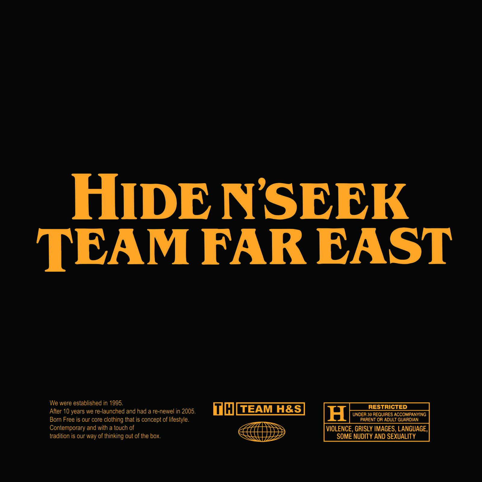 HIDEANDSEEK 2020 SS COLLECTION
