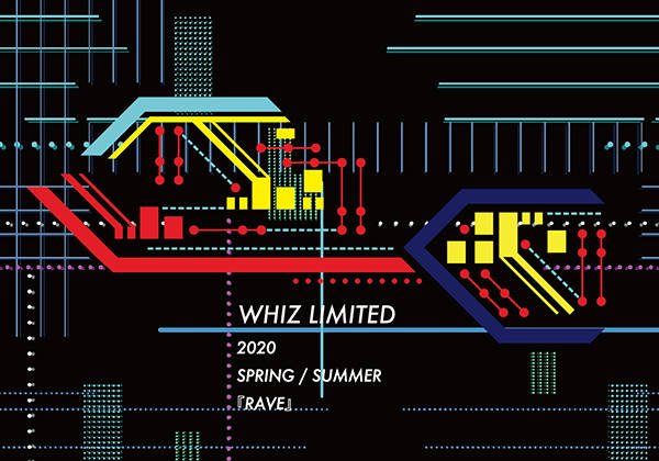WHIZ LIMITED WHIZ LIMITED 2020 SS COLLECTION / RAVE