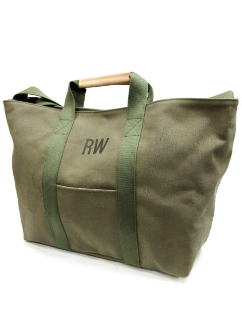 CANVAS TOTO BAG (OLIVE)