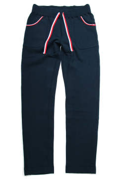 RAISED BACK FRENCH TERRY LONESTAR COLOR PANTS (NAVY) / 裏起毛スウェットパンツ