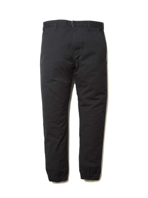 WEATHER CLOTH JOGGER (BLACK)