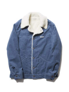 CORDUROY CATTLEMAN JACKET (BLUE)