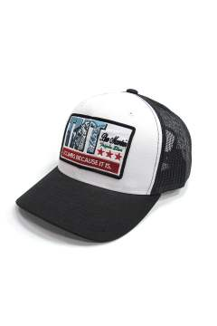 WAPPEN MESH CAP (BLUE MAUNTAIN) (BLACK)