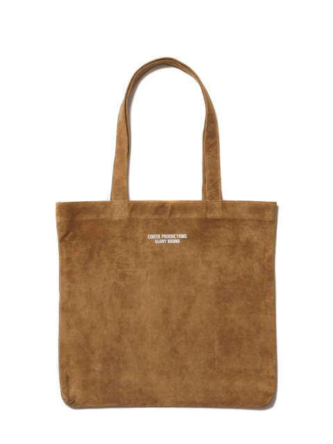 SUEDE TOTE BAG (BROWN) / スウェード トートバッグ