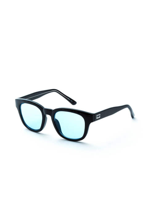 COLORLENS SUNGLASSES WELLINGTON-TYPE (BLACK) / ウェリントンタイプ サンブラ