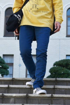 5 POCKET SKINNY DENIM (BLUE)