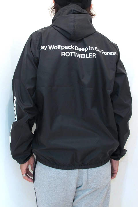 WOLFPACK TECH PARKA (BLACK) / ウインドブレーカー
