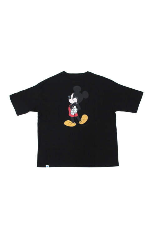 MICKEY MOUSE BIG TEE (BLACK) / ミッキーマウス コラボビッグT