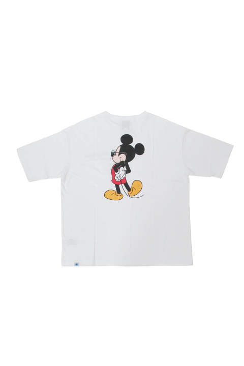 MICKEY MOUSE BIG TEE (WHITE) / ミッキーマウス コラボビッグT