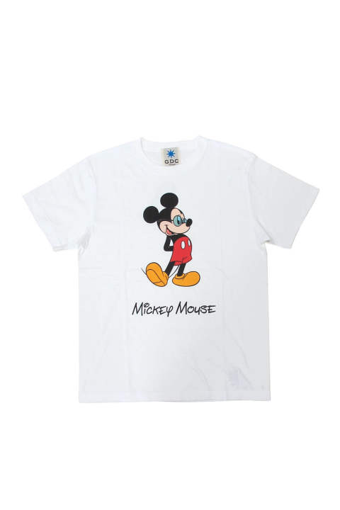 MICKEY MOUSE TEE (WHITE) / ミッキーマウス コラボT