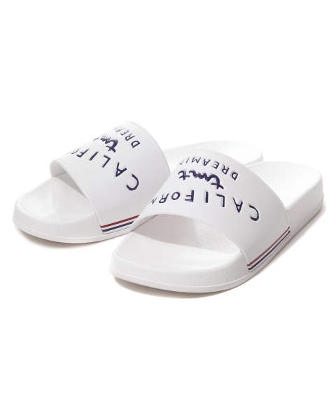SHOWER SANDALS (CALIFORNIA DREAMIN) (WHITE) / シャワーサンダル