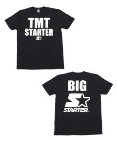 ×STARTER BLACK LABEL COLLABORATION TEE (BIG STARTER) (BLACK) / スターターコラボT (ビッグスターター)