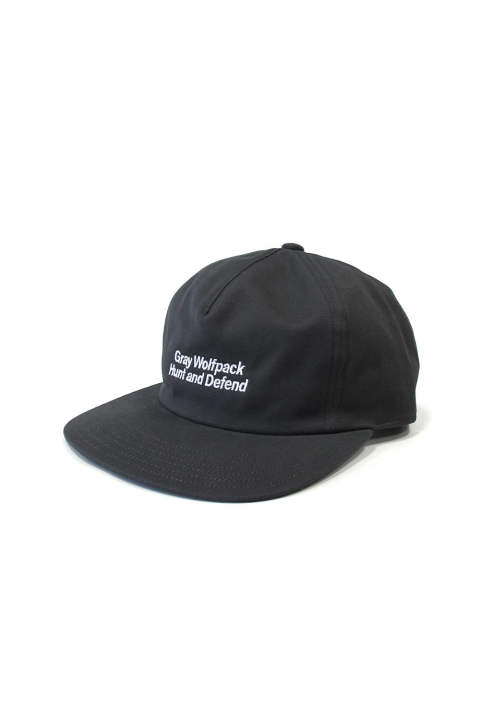 HUNT AND DEFEND CAP (GRAY) / オリジナルローキャップ