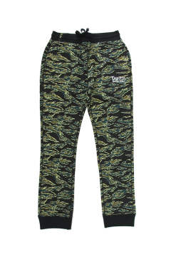 BUENA VISTA DEPORTE / OLD LOGO EMBROIDERY SWEAT TAPERED PANTS (CAMOUFLAGE) / ロゴ刺繍 スウェットパンツ