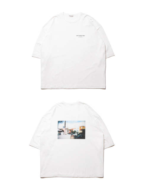 PRINT S/S TEE (BARRIO) (OFF WHITE) / ビッグT (フォト)